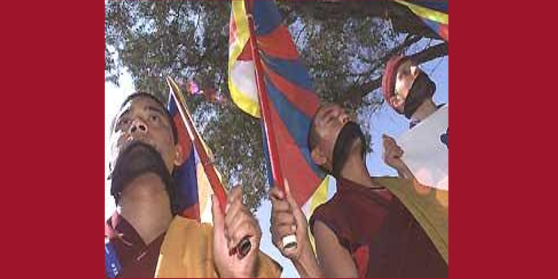 Only Tibetan Protesters Curbed From Chinese Pressure