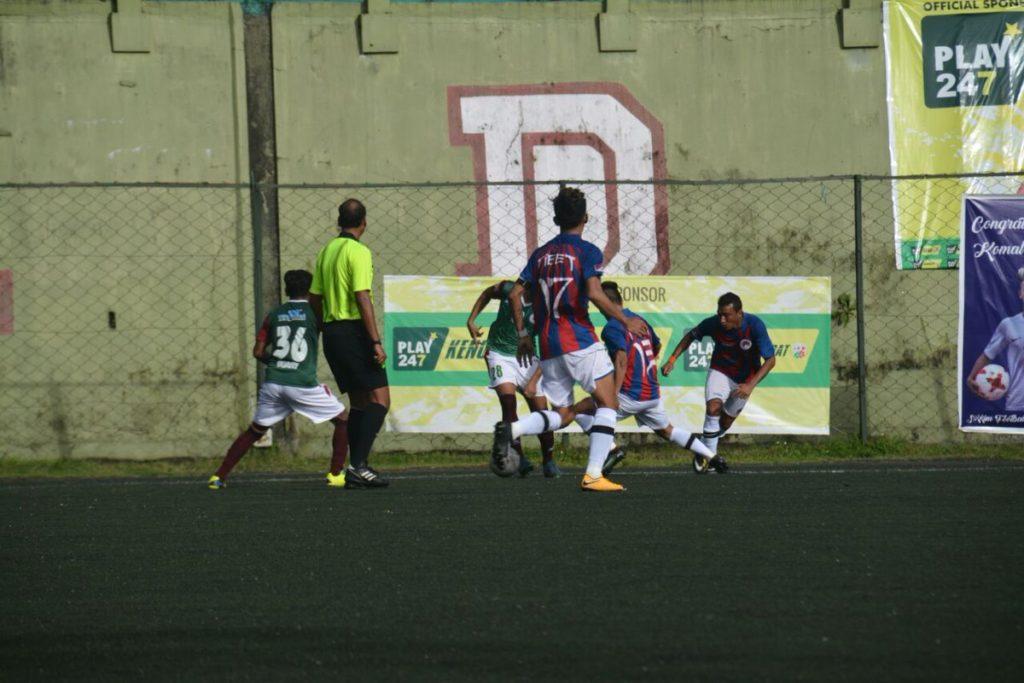 Tibetan Team Playing against CRPF Jhalandhar