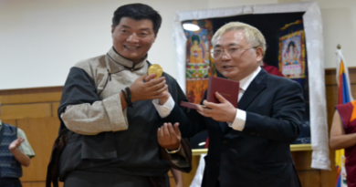 Sikyong Dr. Lobsang Sangay Conferred Takasu Award