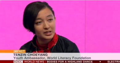 Tenzin Choeyang WLF Youth Ambassador Speaks To BBC