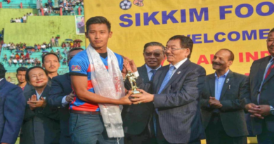 Tibetan Keeper Awarded Best Goalie At Sikkim Gold Cup