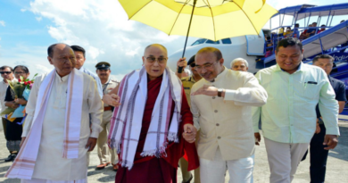 Dalai Lama Makes Maiden Manipur Visit