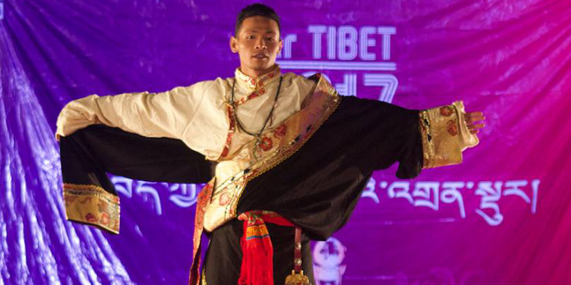 24 Year Old Nyima Becomes The First Mr. Tibet Winner