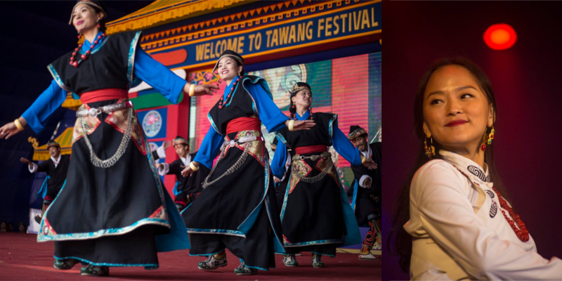 Tibetan Artists Performed At Fifth Tawang Festival