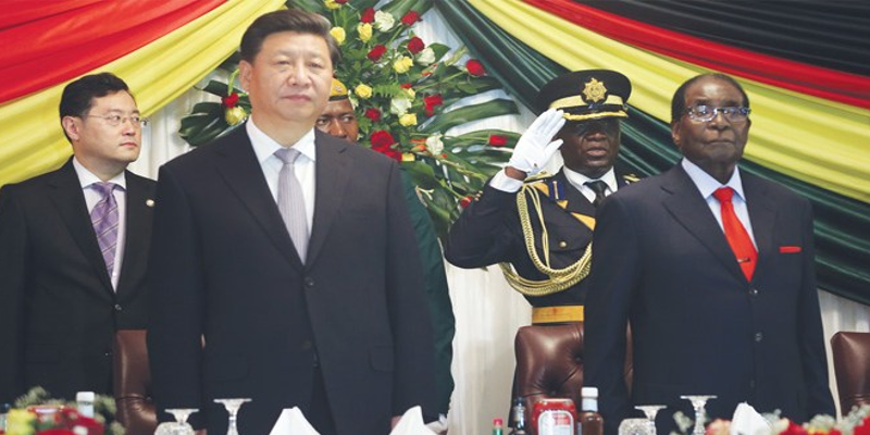China Set to Gain from Resignation of Zimbabwean Leader Robert Mugabe