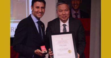 TCCC President Sonam Lankar Wins Canada 150 Award