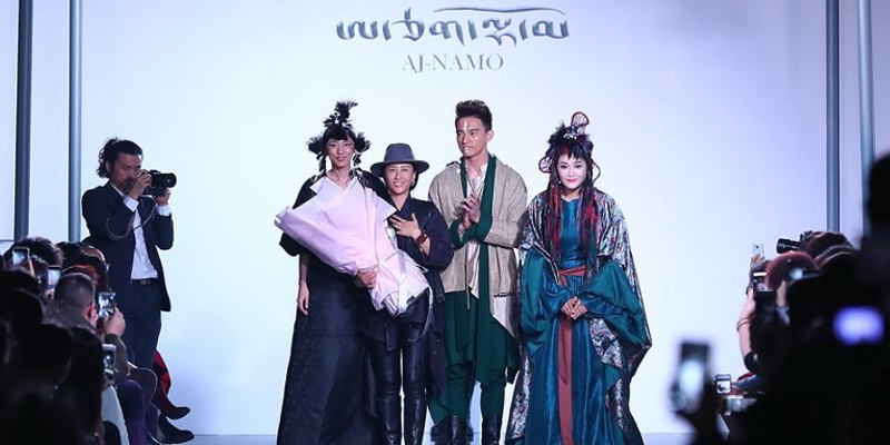 Tibetan Fashion Designer Aj-Namo Stuns All In Beijing