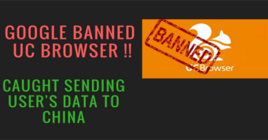UC Browser Taken Down by Google Playstore Sent User Data to China?