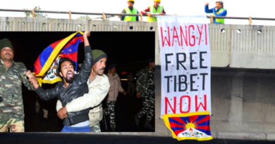 9 Tibetans Detained For Protesting Chinese Delegation In New Delhi