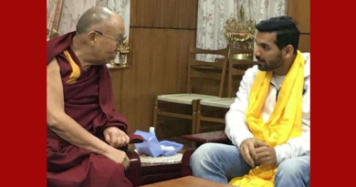 Bollywood Superstar John Abraham Meets Dalai Lama