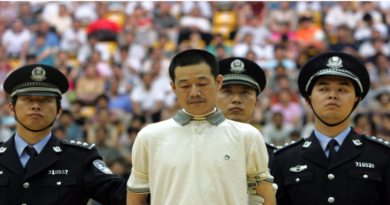China Executed 10 Death Sentences In Public View At Stadium