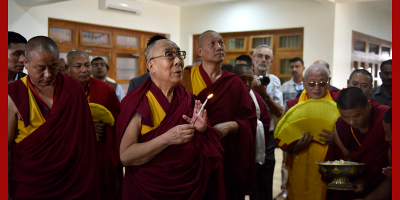 Dalai Lama Inaugurates Meditation And Science Centre