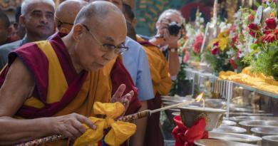 Dalai Lama Inaugurates Renovated Golden Temple