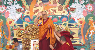 Dalai Lama Inaugurates Sera Mey Courtyard And Gives Public Teaching