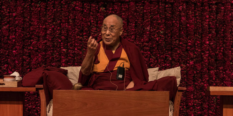 Dalai Lama Leaves For Programs In Southern India