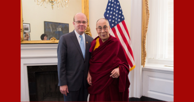Let His Holiness the Dalai Lama Go Home: US Congressman To China