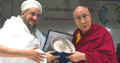 Syedna Qutbuddin Harmony Prize Conferred On Dalai Lama