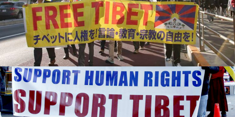 Tibet Rallies Across The World On Human Rights Day