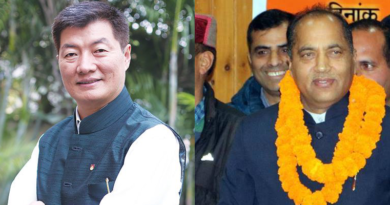 Tibetan PM Lobsang Sangay Congratulates New Himachal Pradesh CM