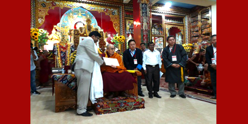 Tibetan Settlement Receives Record Tenancy Certificate From Govt.