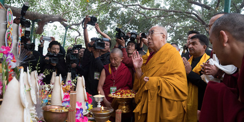 13 Policemen On Duty Guarding Dalai Lama Suspended For Negligence In Bodh Gaya