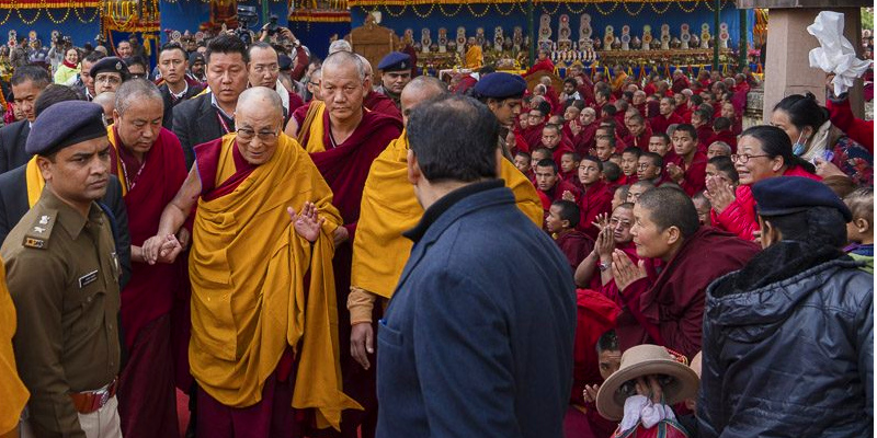 Additional Forces Deployed From Other Districts To Secure Dalai Lama's Stay At Bodh Gaya