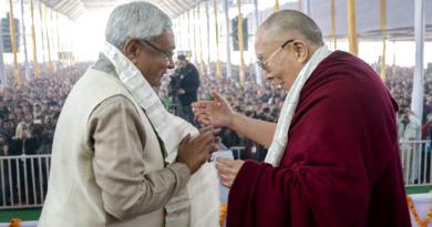 Bihar CM Nitish Kumar Seeks Dalai Lama Blessings For State's Welfare