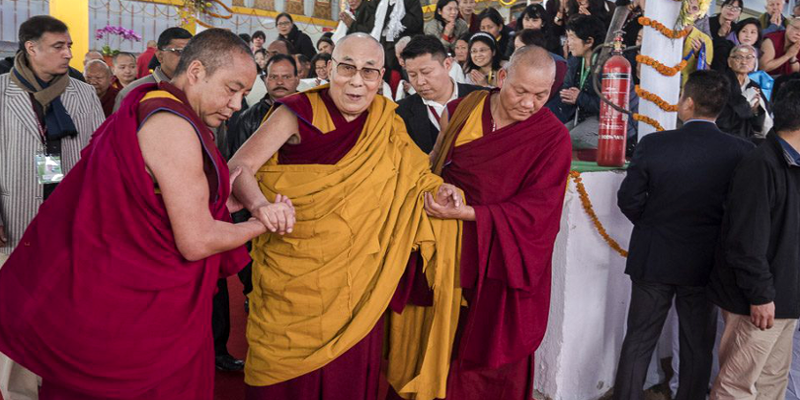 Dalai Lama Announce Two Days Teachings For Disciples From China