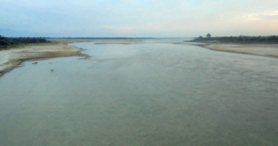 Darkening of River in Arunachal Pradesh Due to Earthquake in Tibet