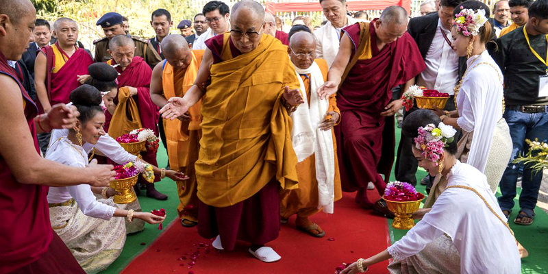 Essence of Buddhism is Compassion: Dalai Lama Inaugurates Thai Temple