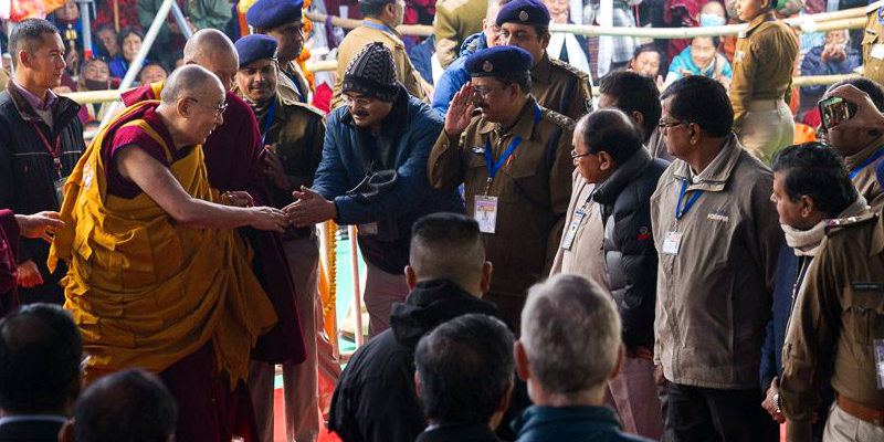 His Holiness the Dalai Lama Returns To Bodh Gaya