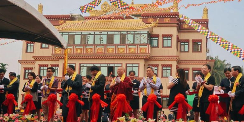 One of The Largest Tibetan Monastery Opened In Taiwan