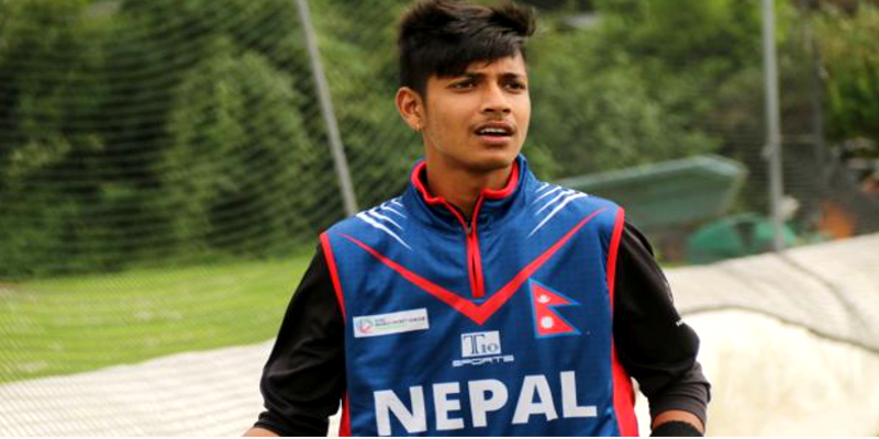 Sandeep Lamichhane is the First Nepalese to Play IPL