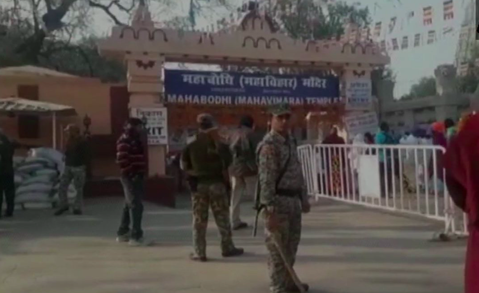 Security beefed up at Bodh Gaya