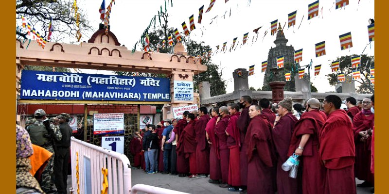 Strike in Ladakh Post Finding Bombs in Bodh Gaya