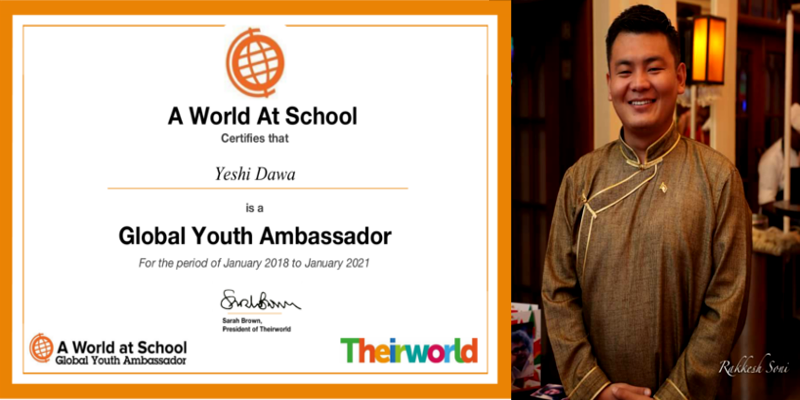 Tibetan Youth Selected to Global Youth Ambassadors for Tibet