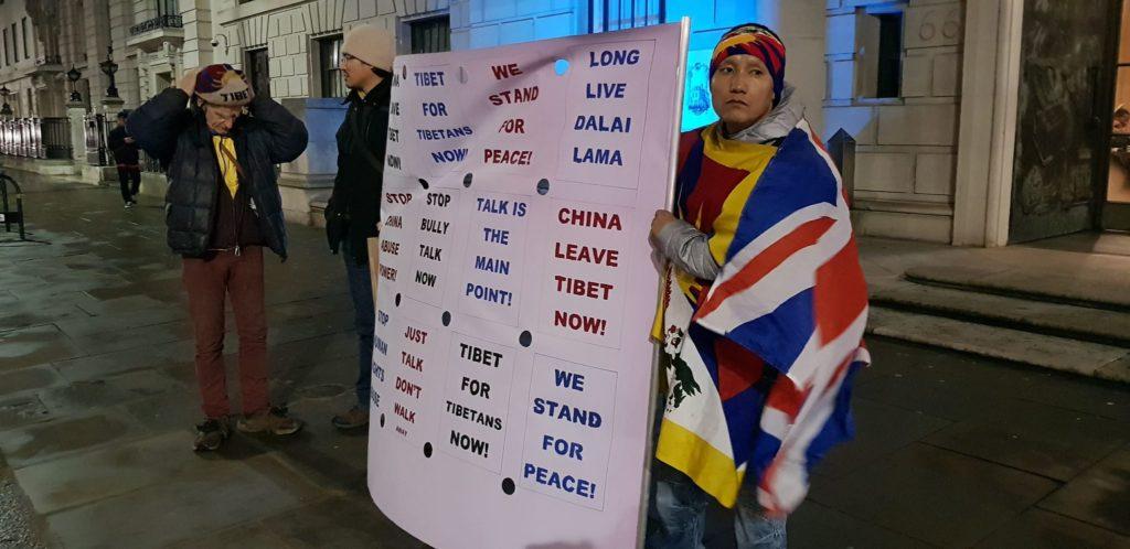 Lhakar or Wednesday Vigil in London 4