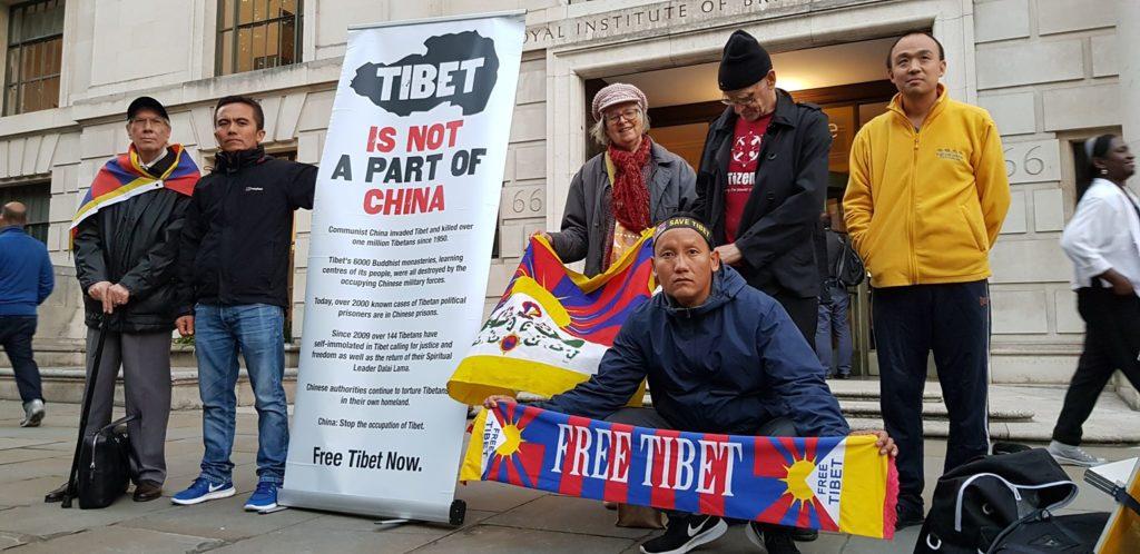 Lhakar or Wednesday Vigil in London 1