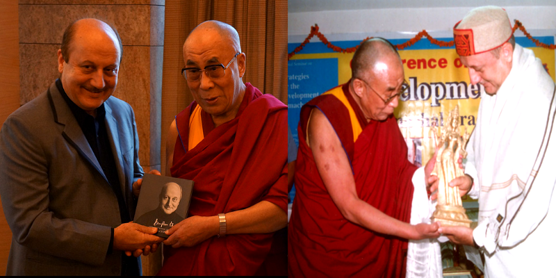 Anupam Kher Cherishes Meeting H. H. the Dalai Lama