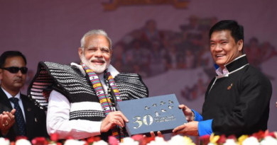 China Protests PM Modi's Arunachal Pradesh Visit