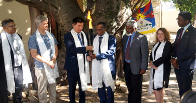 China Protests Tibetan Leader's Visit to South Africa