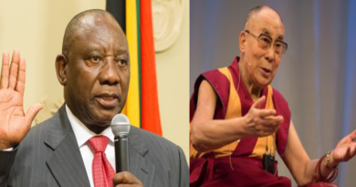 Dalai Lama Congratulates New South African President
