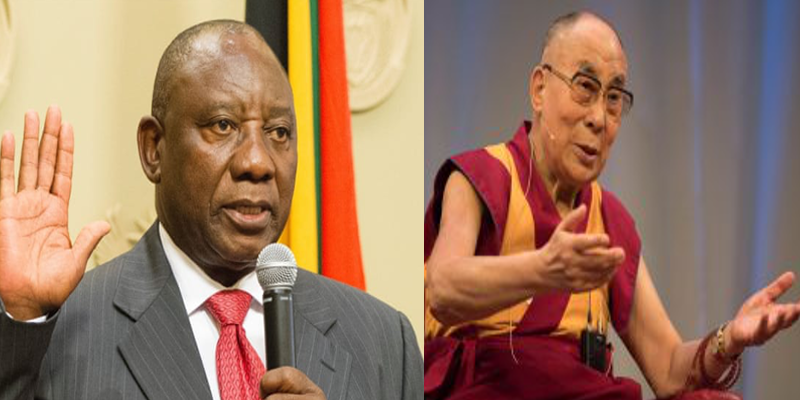 Dalai Lama Congratulates New South African President