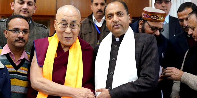 New Himachal CM Thakur Seeks Dalai Lama's Audience