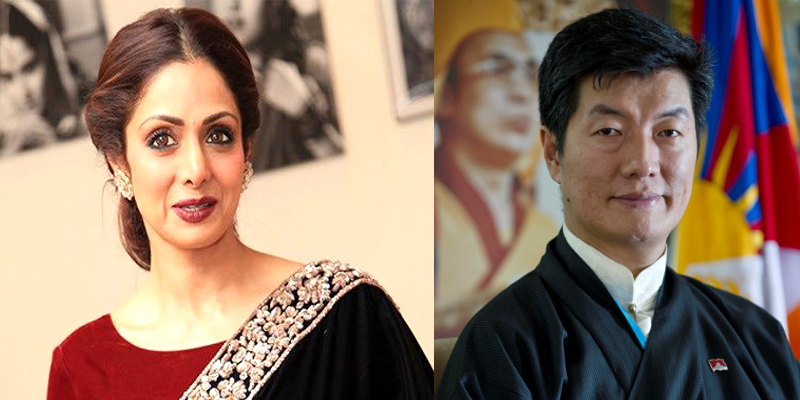 Tibetan President Saddened by Sridevi's Sudden Death