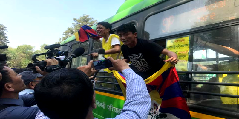 All 80 Tibetan Activists Detained in New Delhi on March 10 Eve