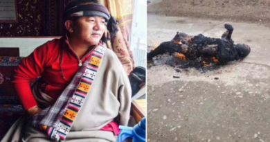 Breaking News: Tibetan Man Burns Self to Protest Against China