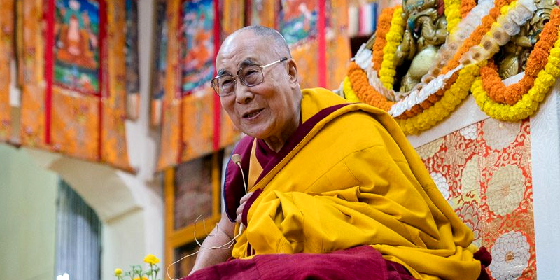 Dalai Lama Offered Long Life Prayer by Nuns, Inspired to Continue His Work