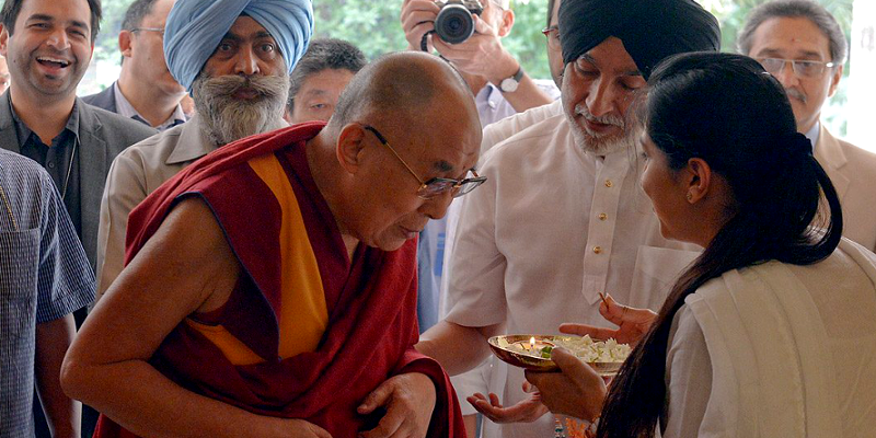Dalai Lama's Two Reasons on Feeling at Home in India