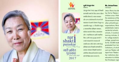 India Honours Dalai Lama's Sister Jetsun Pema with Nari Shakti Puruskar